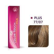 Wella Color Touch Plus 77/07 Medium Blond Intensief Natuurlijk Bruin