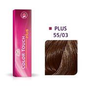 Wella Color Touch Plus 55/03 licht bruin intensief natuurlijk goud