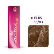 Wella Color Touch Plus 66/03 Donker Blond Intensief Natuurlijk Goud