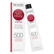 Revlon Professional Nutri Color Creme 500 Purpurrot Tube 100 ml
