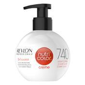Revlon Professional Nutri Color Creme 740 Kupfer 270 ml