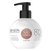 Revlon Professional Nutri Color Creme 812 Hellblond Perlmut-Beige 270 ml