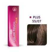 Wella Color Touch Plus 55/07 Châtain clair intense naturel marron