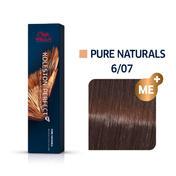Wella Koleston Perfect ME+ Pure Naturals 6/07 Dunkelblond Natur Braun, 60 ml
