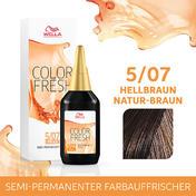 Wella Color Fresh pH 6.5 - Acid 5/07 Hellbraun, 75 ml