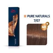 Wella Koleston Perfect ME+ Pure Naturals 7/07 Mittelblond Natur Braun, 60 ml