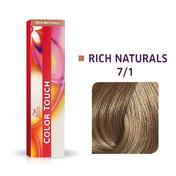 Wella Color Touch Rich Naturals 7/1 Blond moyen cendré