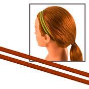 Solida Bandeau antidérapant pour cheveux marron, Par paquet 2 pièces