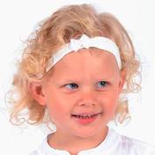 Solida Haarband Schleife Weiß