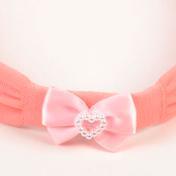 Solida Haarlint strik Roze