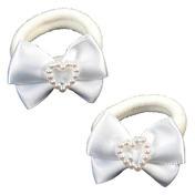 Solida Élastique avec nœud blanc, Par paquet 2 pièces