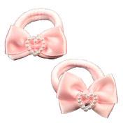 Solida Élastique avec nœud rose, Par paquet 2 pièces