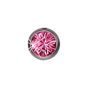 Schönes für den Körper Titanium neus stud Roze, gebogen