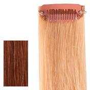 hair4long Mèches « Rock » en cheveux naturels Quick Clip blond clair intense