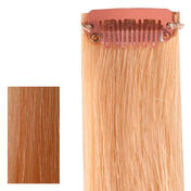 hair4long Mèches « Rock » en cheveux naturels Quick Clip blond lumineux extra
