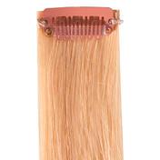 hair4long Mèches « Rock » en cheveux naturels Quick Clip blond spécial naturel