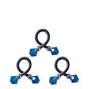 Dynatron Twisti Crystal Blau