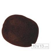 Solida Boudin à chignon 10 x 13 cm Foncé
