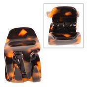 Solida Haarklammer Rhodoid klein Tokyo Dunkel