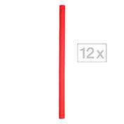 Efalock Flex-Wickler Ø 12 mm, rot, Pro Packung 12 Stück
