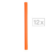 Efalock Flex-Wickler Ø 17 mm, orange, Pro Packung 12 Stück