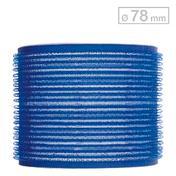 Efalock Haftwickler Blau Ø 78 mm, Pro Packung 6 Stück