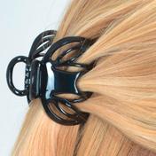 Solida Haarklammer Octopus Schwarz