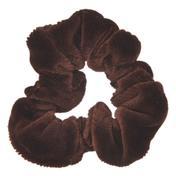 Solida Fashionring Samt klein Braun