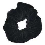 Solida Anneau fashion velours moyen Noir