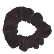 Solida Fashionring Samt groß Braun