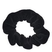 Solida Fashionring Samt groß Schwarz