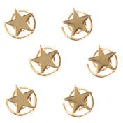 Solida Haarspirale Stern Gold