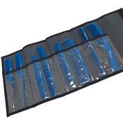 Hercules Sägemann Carbon Kammset Blau