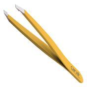 Canal Haarpinzette gerade Gelb
