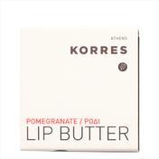 KORRES Lip Butter Pomegranate, rose, 6 g