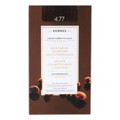 KORRES Arganöl Hochentwickelte Coloration 4.77 Dunkle Schokolade