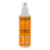 KORRES Émulsion solaire au yaourt pour le visage et le corps SPF 30, 150 ml
