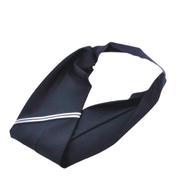 Solida Haarband mit Reflexion Schwarz