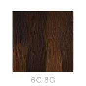Balmain Easy Length Tape Extensions 55 cm 6G.8G Dark Gold Blonde