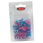 BHK Rasta Haargummi dünn lila, Pro Packung 250 Stück