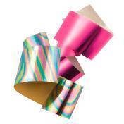 LCN Nail Art Foil Pink meets Rainbow