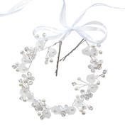 Dynatron Fashion Haarschmuck Blüten mit Satinband