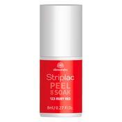 alessandro Striplac Peel Or Soak Ruby Red, 8 ml
