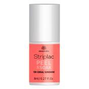 alessandro Striplac Peel Or Soak Coral Sunshine, 8 ml