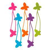 Titania Kinderzopfhalter Schmetterling