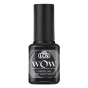 LCN WOW Hybrid Gel Top Coat Top Coat Matt, 8 ml