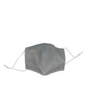 PARSA Waschbare Mund- und Nasenmasken für Erwachsene Grau