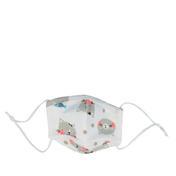PARSA Waschbare Mund- und Nasenmasken für Kinder Katze grau