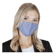 PARSA Waschbare Mund- und Nasenmasken für Erwachsene Blau Punkte