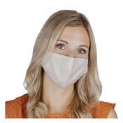 PARSA Waschbare Mund- und Nasenmasken für Erwachsene Beige Uni
